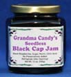 Photo of a jar of Black Cap Seedless Jam